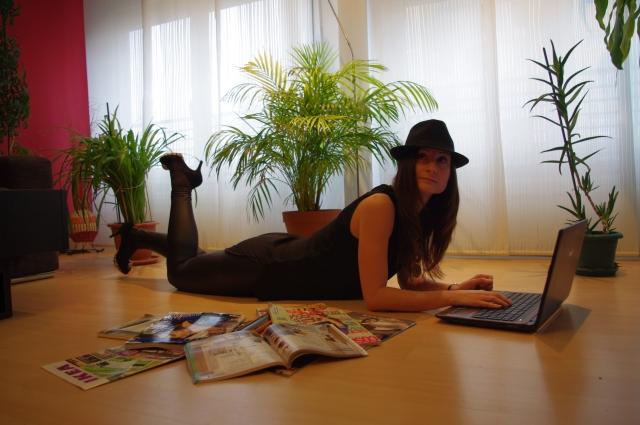 bloguera blogger moda imagen
