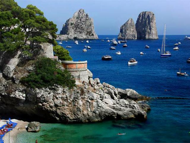 playa, vacaciones, italia, islas
