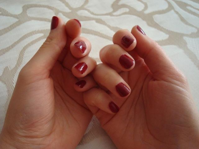 maquillaje de uñas, esmaltes de uñas