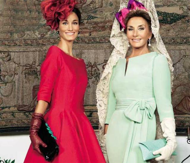 Vestidos de madrinas de bodas famosos