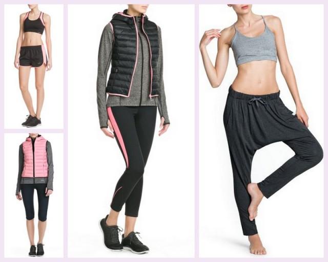 leggins, mallas, top, camiseta, sudadera deporte, zapatillas deporte, ropa de gimnasio, ropa para correr, running, sport wear