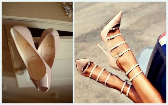 Zapatos nude con todo