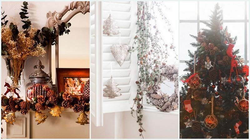 Viste tu casa de navidad venus y su espejo - Zara home navidad ...