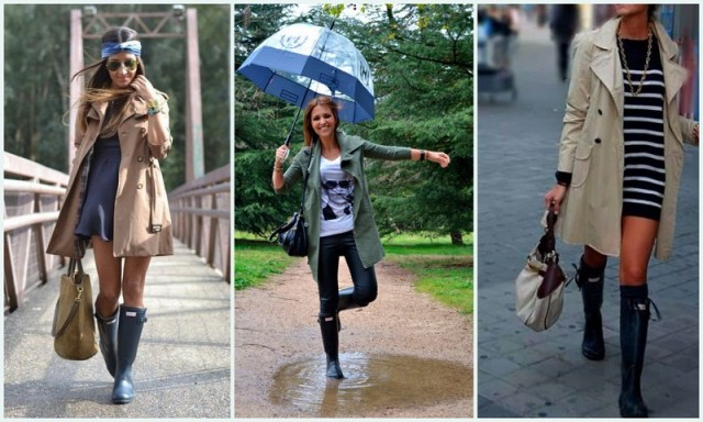 botas agua, botines de agua, hunter, botas altas, lluvia, mal tiempo, outfit, frío, otoño, invierno, paraguas, impermeable, abrigo, trench, gabardina, gorro lluvia, complementos lluvia, accesorios agua
